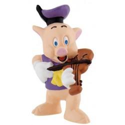 Cerdito Violin Figura Los Tres Cerditos