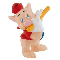 Red Pig Figure The Three Little Pigs