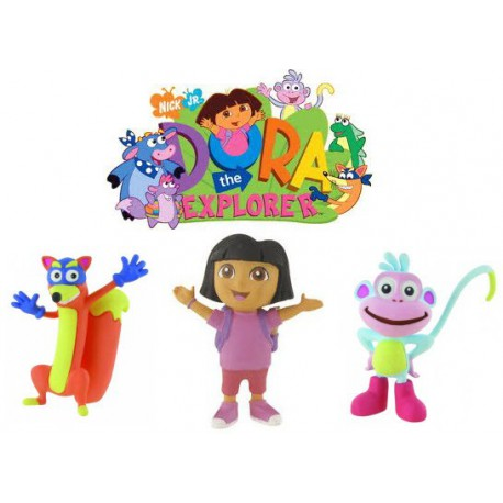 Dora Exploradorer plastic Figures