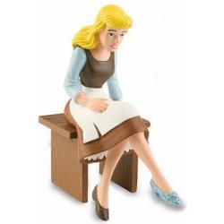 Cenicienta Sentada Figura La Cenicienta Disney