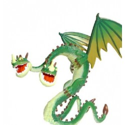 How Train Your Dragon Zippleback Figure