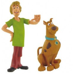 Scooby Doo and Shaggy Figures