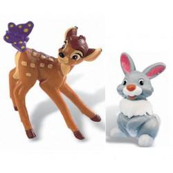 Bambi y Tambor Figuras