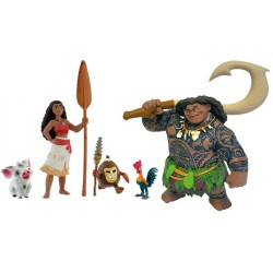 Moana Plastic Figures