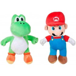 Mario & Yoshi Plush Nintendo 25 cm