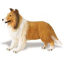 Figura Miniatura Perro Raza Collie