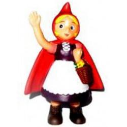 Figura Muñeco Caperucita Roja Saludando