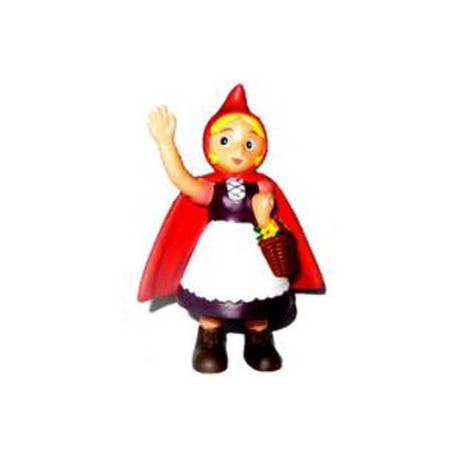 Little Red Riding Hood Saluting Figure