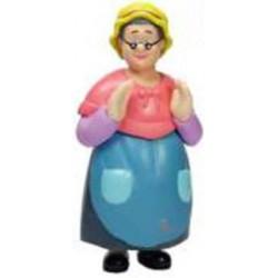 Figura Abuelita Caperucita