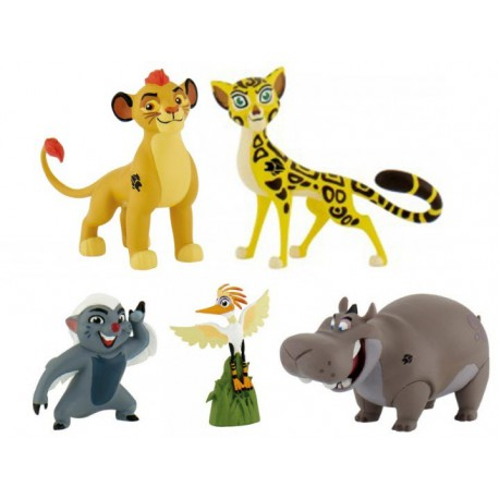 La Guardia del León Figuras PVC