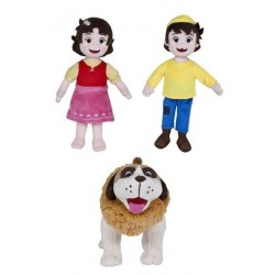 Heidi Peter and Dog Plush