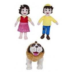 Heidi Peter and Dog Plush