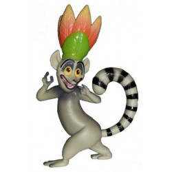 King Julien The Penguins of Madagascar Figure