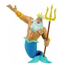 Rey Tritón Figura La Sirenita Disney