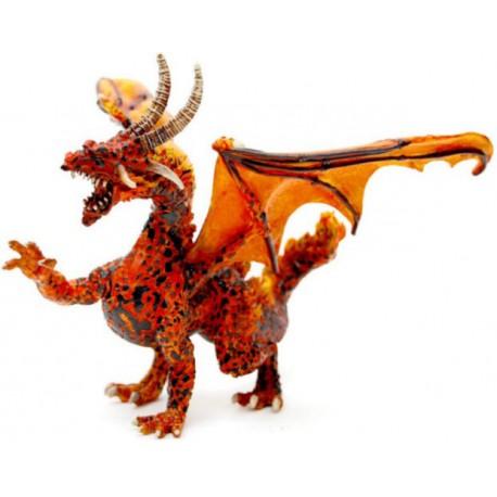 Lava Dragon Figure