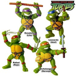 Mutant Ninja Turtles 4 Figures