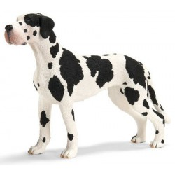 The Great Dane Dog Figure