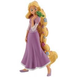 Rapunzel con Flores Figura
