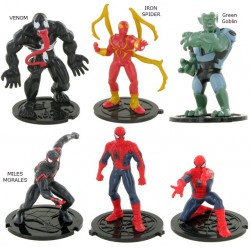 Spiderman Marvel Plastic Figures