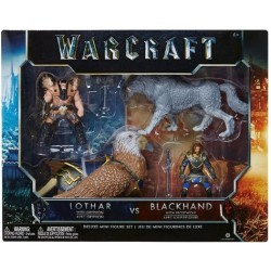 Figuras World of Warcraft Lothar y Blackhand