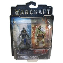 World of Warcraft Alliance Warrior vs Horde Warrior Figures