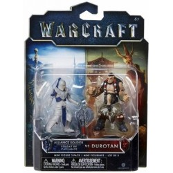 Figuras World of Warcraft Alliance Soldier y Durotan