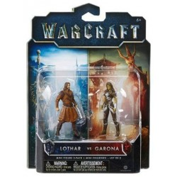 World of Warcraft Lothar VS Garona Figures Pack