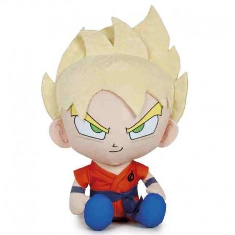 Peluche Goku Pelo Amarillo Dragon Ball
