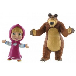 Masha and The Bear Plastic Figures