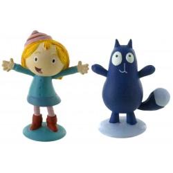 Peg + Gato figuras