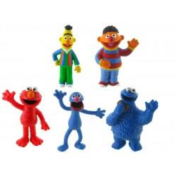 Sesame Street Plastic Figures