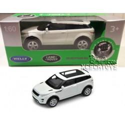 Range Rover Evoque Welly Nex 1:60 Escala