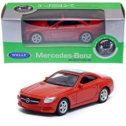 Mercedes Benz SL500 Welly 1:60 Escala