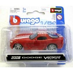 Dodge Viper Burago Escala 1:64