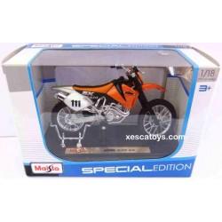 Enduro KTM 520 SX Scale 1:18 Maisto Special Edition