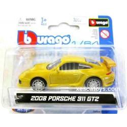 Porsche 911 GT2 2008 Burago Escala 1/64