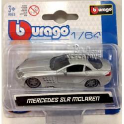 Mercedes Benz SLR Mclaren Burago Escala 1:64