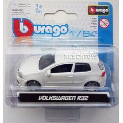 Volkswagen Golf R32 Burago Escala 1:64
