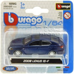 Lexus IS-F 2008 Burago Escala 1:64