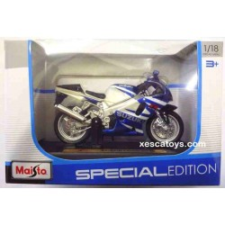 Suzuki GSX R750 Escala 1:18 Maisto Special Edition