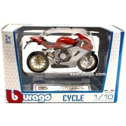 Motorbike MV Agusta F3 Serie Oro Scale 1:18 Burago