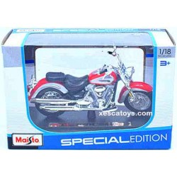 Yamaha 2001 Road Star Red Scale 1:18 Maisto Special Edition