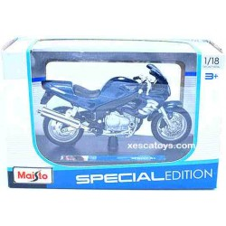 Triumph Sprint RS Blue Scale 1:18 Maisto Special Edition