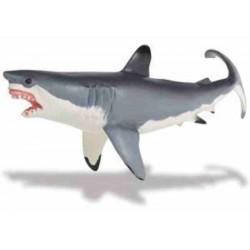 Carnivore Fish Great White Shark Figure
