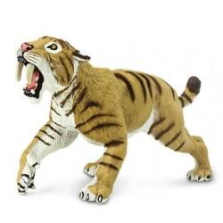 Felino Dientes de Sable Smilodon Figura Dinosaurio