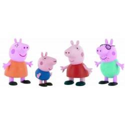 Familia Peppa Pig Figuras PVC