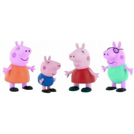 Peppa Pig Family Figures