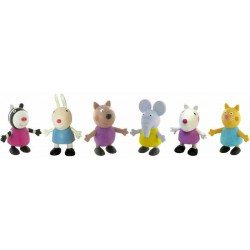 Peppa Pig Friends Figures