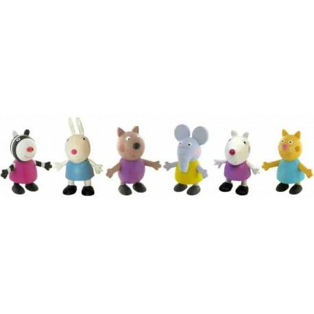 Peppa Pig Friends Figures