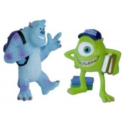 Monsters University Figures Sullley and Mike